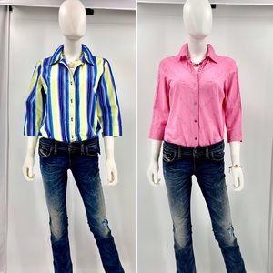 🔹BUNDLE-NAPA VALLEY-Size M-Button Up Shirts